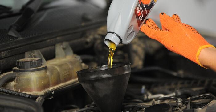 Schritt-für-Schritt-Anleitung zum selbstständigen Wechsel von ML W163 2003 ML 430 4.3 (163.172) Ölfilter