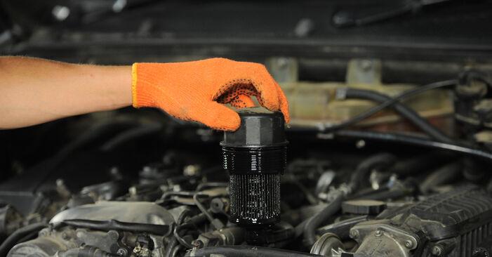 Ölfilter ML W163 ML 400 CDI 4.0 (163.128) 2000 wechseln: Kostenlose Reparaturhandbücher