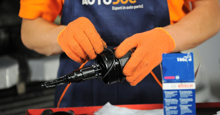 Wie MERCEDES-BENZ M-CLASS ML 430 4.3 (163.172) 2002 Ölfilter ausbauen - Einfach zu verstehende Anleitungen online