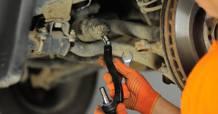 Changing of Track Rod End on ML W163 1998 won't be an issue if you follow this illustrated step-by-step guide