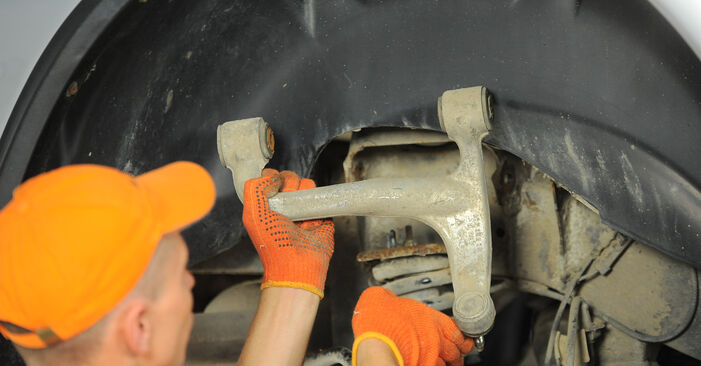 How to change Control Arm on MERCEDES-BENZ M-Class (W163) 2002 - tips and tricks