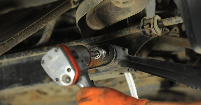 How to remove MERCEDES-BENZ M-CLASS ML 430 4.3 (163.172) 2002 Control Arm - online easy-to-follow instructions