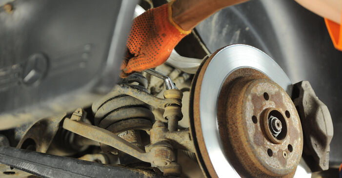 Need to know how to renew Control Arm on MERCEDES-BENZ M-CLASS ? This free workshop manual will help you to do it yourself