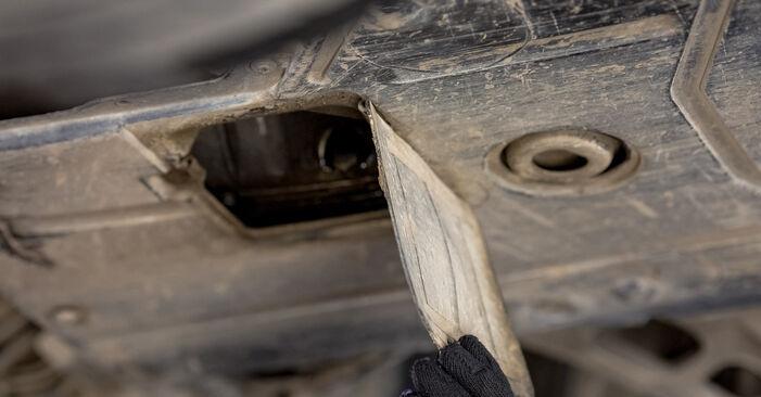 Ölfilter beim BMW 3 SERIES 316i 1.8 1994 selber erneuern - DIY-Manual