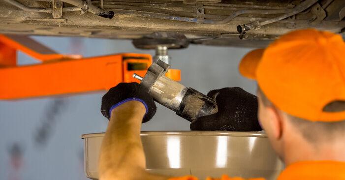 Cik grūti ir veikt Degvielas filtrs nomaiņu BMW E46 320i 2.0 2000 - lejupielādējiet ilustrētu ceļvedi