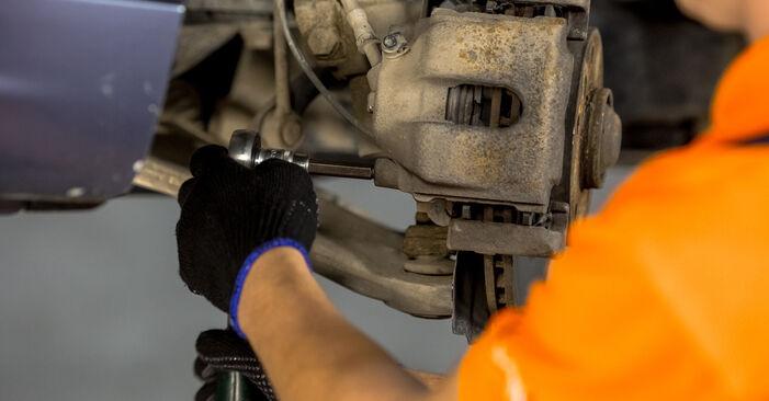 BMW 3 SERIES 320d 2.0 Bremssattel ausbauen: Anweisungen und Video-Tutorials online