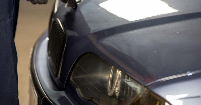 Wie Bremssattel BMW 3 Limousine (E46) 330d 2.9 1999 austauschen - Schrittweise Handbücher und Videoanleitungen