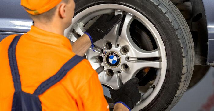 Wie BMW 3 SERIES 316i 1.9 2002 Bremssattel ausbauen - Einfach zu verstehende Anleitungen online