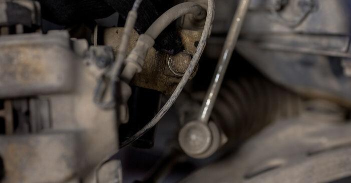 Pakāpeniski ieteikumi patstāvīgai BMW E46 2003 316i 1.9 Piekare nomaiņai