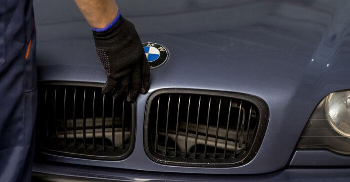 Kaip pakeisti Spyruoklės BMW 3 Sedanas (E46) 2003: atsisiųskite PDF instrukciją ir vaizdo pamokas