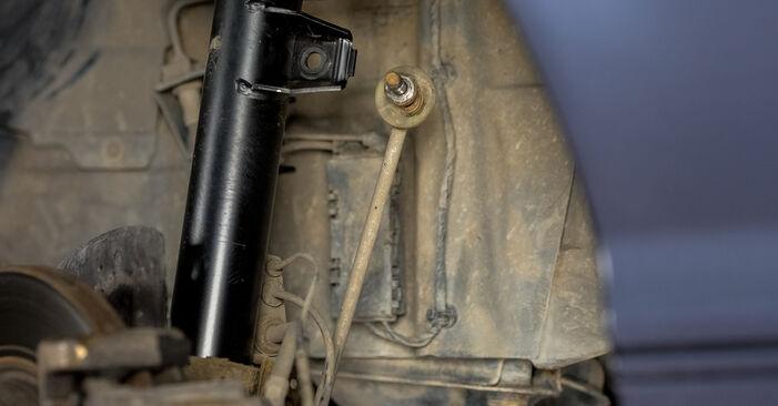 Cik grūti ir veikt Piekare nomaiņu BMW E46 320i 2.0 2004 - lejupielādējiet ilustrētu ceļvedi