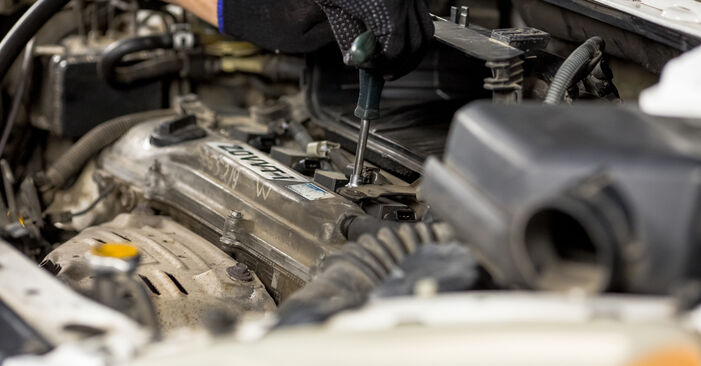 Changing of Spark Plug on Toyota Rav4 II 2002 won't be an issue if you follow this illustrated step-by-step guide