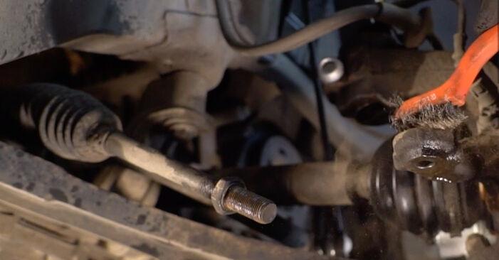 Wie schwer ist es, selbst zu reparieren: Spurstangenkopf Toyota Rav4 II 2.4 4WD (ACA23, ACA22) 2000 Tausch - Downloaden Sie sich illustrierte Anleitungen