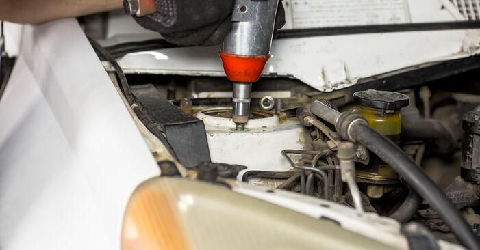 Schritt-für-Schritt-Anleitung zum selbstständigen Wechsel von Toyota Rav4 II 2001 2.4 4WD Stoßdämpfer
