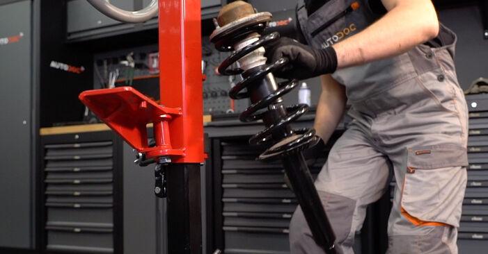 Consigli passo-passo per la sostituzione del fai da te Toyota Rav4 II 2001 2.4 4WD Ammortizzatori