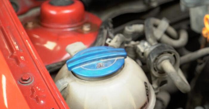 Wasserpumpe + Zahnriemensatz beim SEAT IBIZA 1.4 16V 2009 selber erneuern - DIY-Manual
