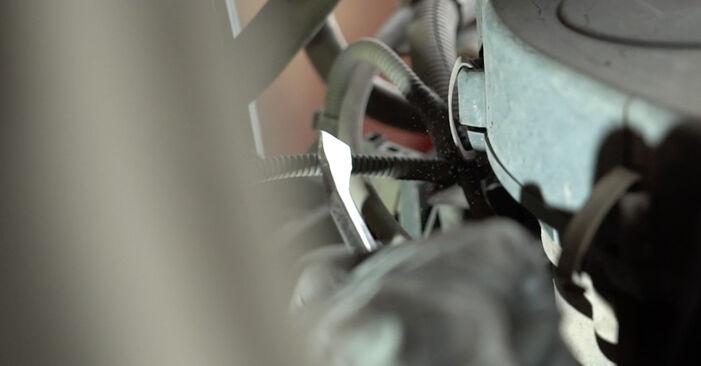 SEAT IBIZA 1.9 SDI Wasserpumpe + Zahnriemensatz ausbauen: Anweisungen und Video-Tutorials online