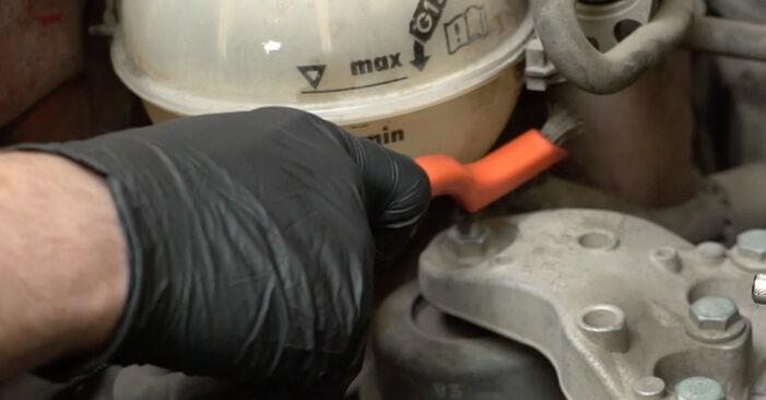 Zweckdienliche Tipps zum Austausch von Wasserpumpe + Zahnriemensatz beim SEAT Ibiza III Schrägheck (6L) 1.2 2008