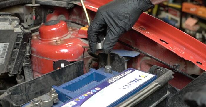 Wie SEAT IBIZA 1.4 TDI 2006 Wasserpumpe + Zahnriemensatz ausbauen - Einfach zu verstehende Anleitungen online