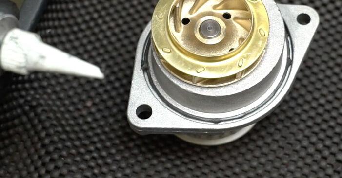 Ibiza III Schrägheck (6L) 1.4 TDI 2005 1.4 16V Wasserpumpe + Zahnriemensatz - Handbuch zum Wechsel und der Reparatur eigenständig