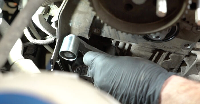 Austauschen Anleitung Wasserpumpe + Zahnriemensatz am Seat Ibiza 6l1 2004 1.9 TDI selbst