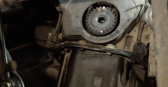 Wie Wasserpumpe + Zahnriemensatz Seat Ibiza 6l1 1.9 TDI 2002 tauschen - Kostenlose PDF- und Videoanleitungen