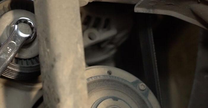 Wasserpumpe + Zahnriemensatz am SEAT Ibiza III Schrägheck (6L) 1.9 TDI Cupra R 2007 wechseln – Laden Sie sich PDF-Handbücher und Videoanleitungen herunter