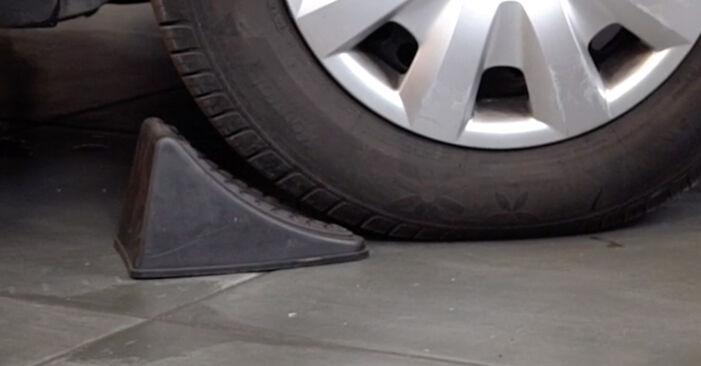 Cum schimbare Arc spirala la Toyota Rav4 II 2000 - manualele în format PDF și video gratuite