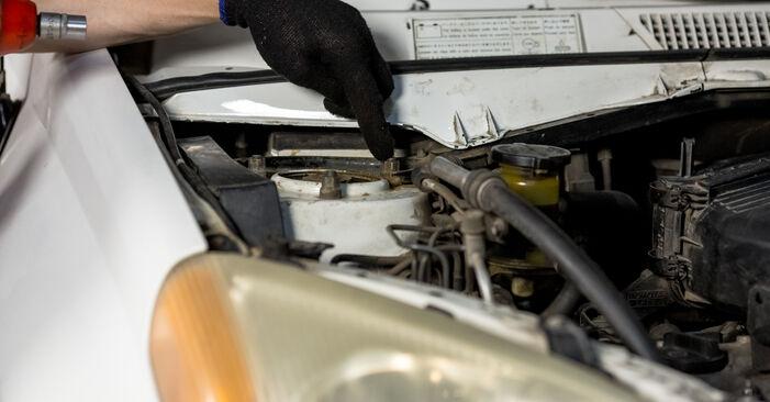 Manualul de atelier pentru înlocuirea de sine stătătoare RAV 4 II (CLA2_, XA2_, ZCA2_, ACA2_) 2.4 4WD 2005 Arc spirala