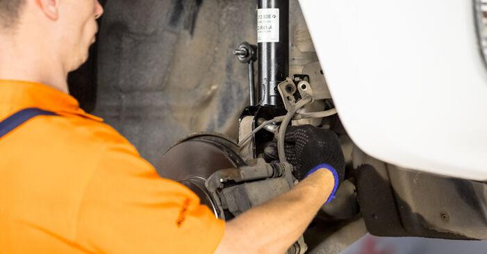Cum să înlocuiți TOYOTA RAV 4 II (CLA2_, XA2_, ZCA2_, ACA2_) 2.0 D 4WD (CLA20_, CLA21_) 2001 Arc spirala – manualele pas cu pas și ghidurile video