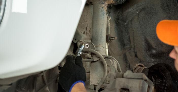 Combien de temps dure le remplacement : Coupelle d'Amortisseur sur Toyota Rav4 II 2002 - manuel PDF informatif
