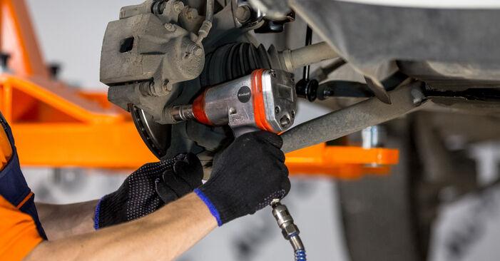Substituindo Rolamento da Roda em Toyota Rav4 II 2004 2.0 D 4WD (CLA20_, CLA21_) por si mesmo