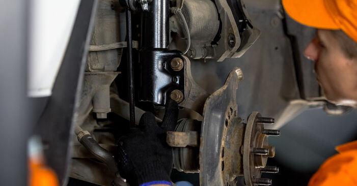 How to change Wheel Bearing on Toyota Rav4 II 2000 - free PDF and video manuals