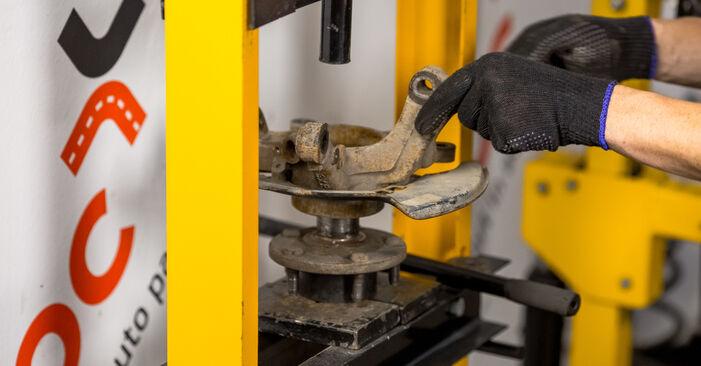 RAV 4 II (CLA2_, XA2_, ZCA2_, ACA2_) 2.4 4WD 2005 Wheel Bearing DIY replacement workshop manual