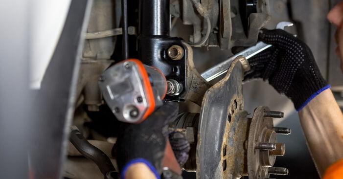 Como trocar Rolamento da Roda no Toyota Rav4 II 2000 - manuais gratuitos em PDF e vídeo