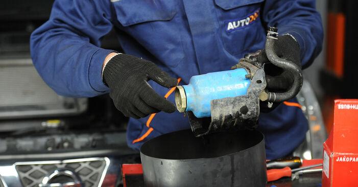 Zweckdienliche Tipps zum Austausch von Kraftstofffilter beim NISSAN X-TRAIL (T30) 2.5 4x4 2002