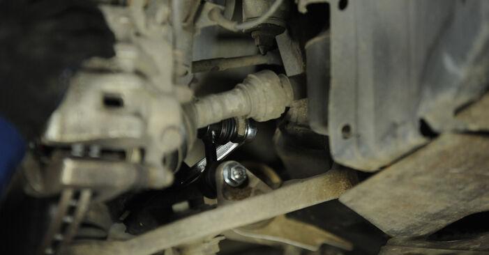 Austauschen Anleitung Koppelstange am Nissan X Trail t30 2011 2.2 dCi 4x4 selbst