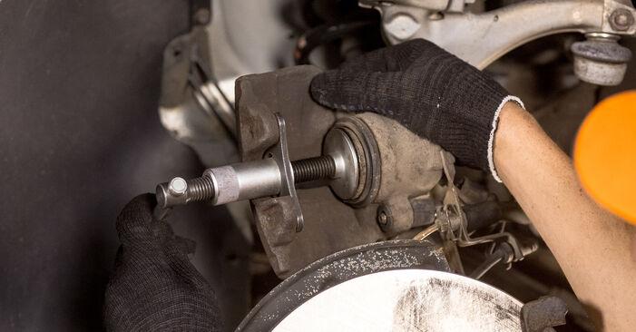 Nissan X Trail t30 2.2 Di 4x4 2003 Remschijven remplaceren: kosteloze garagehandleidingen