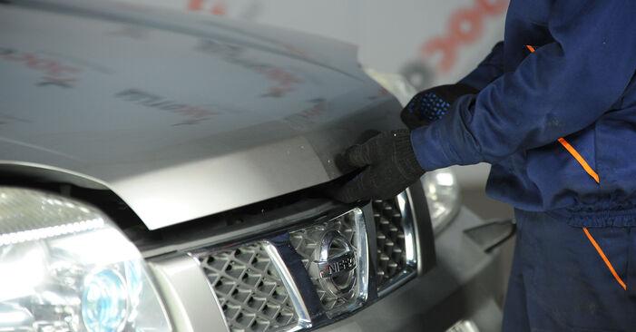 Kuinka vaihtaa Jarrupalat Nissan X Trail t30 2001 -autoon - ilmaiset PDF- ja video-oppaat
