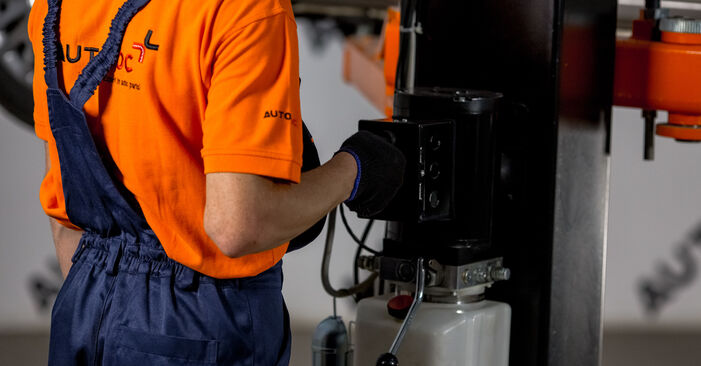 Hoe moeilijk is doe-het-zelf: Veerpootlager wisselen Nissan X Trail t30 2.2 DCi FWD 2007 – download geïllustreerde instructies