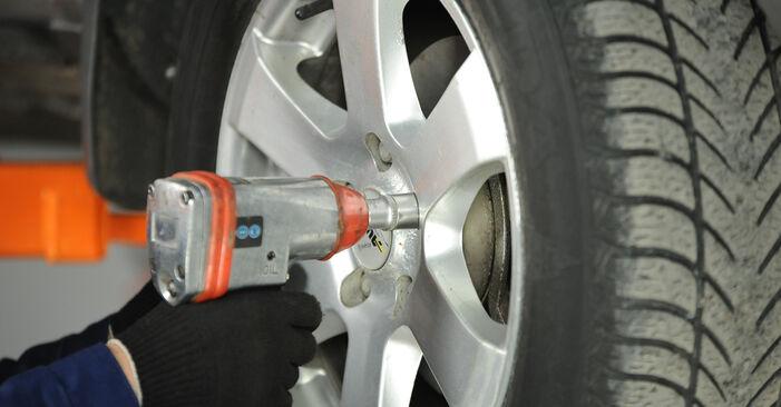 Stap voor stap tips om Nissan X Trail t30 2001 2.2 dCi Veerpootlager zelf te wisselen