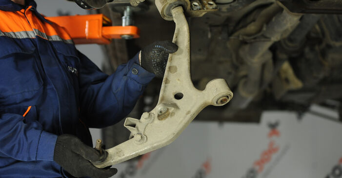 Replacing Control Arm on Nissan X Trail t30 2011 2.2 dCi 4x4 by yourself