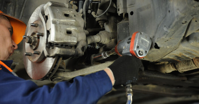 How to remove NISSAN X-TRAIL 2.2 dCi 2005 Control Arm - online easy-to-follow instructions