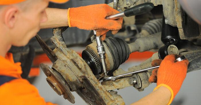 Radlager beim MERCEDES-BENZ M-CLASS ML 350 3.7 4-matic 2005 selber erneuern - DIY-Manual