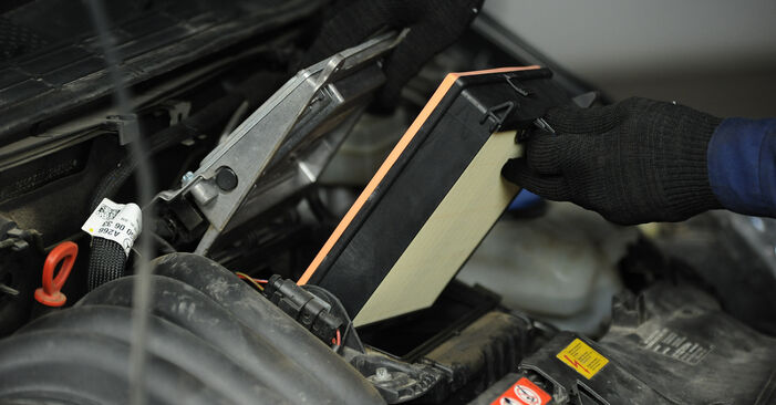 Need to know how to renew Air Filter on MERCEDES-BENZ A-CLASS ? This free workshop manual will help you to do it yourself
