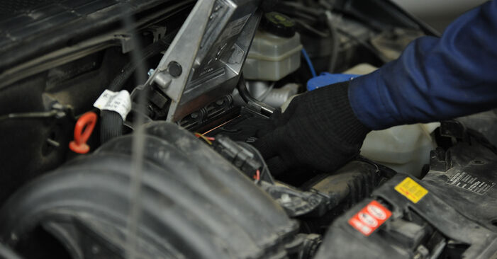 Changing of Air Filter on Mercedes W169 2012 won't be an issue if you follow this illustrated step-by-step guide