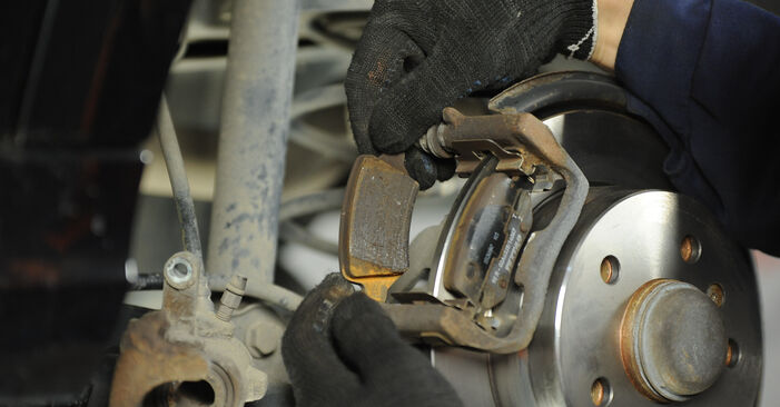 Changing of Brake Discs on Mercedes W169 2012 won't be an issue if you follow this illustrated step-by-step guide