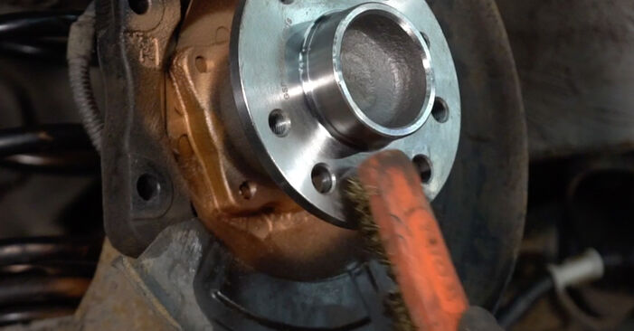 How to change Brake Discs on Mercedes W169 2004 - free PDF and video manuals