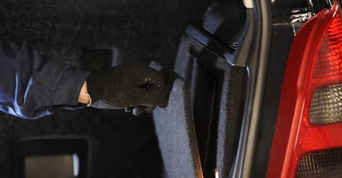 Austauschen Anleitung Stoßdämpfer am Mercedes W169 2005 A 180 CDI 2.0 (169.007, 169.307) selbst
