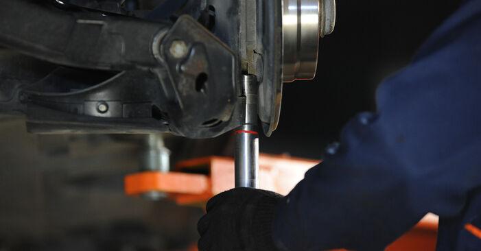Federn Mercedes W169 A 170 1.7 (169.032, 169.332) 2006 wechseln: Kostenlose Reparaturhandbücher